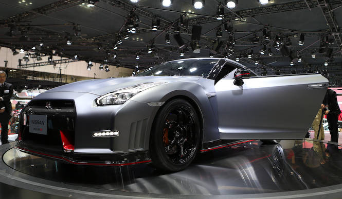 "GT-Rを旗艦に""走り""を前面に押し出す日産 Nissan"