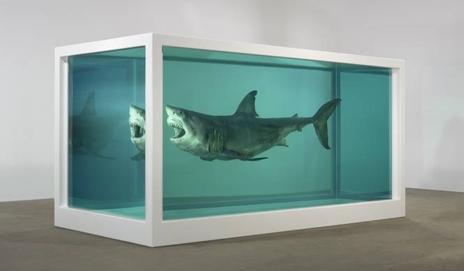 ART FILE 27|ダミアン・ハースト回顧展「Relics」|連載「世界のアート展から」