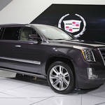 キャデラックの最上級SUV「エスカレード」が新世代に移行|Cadillac