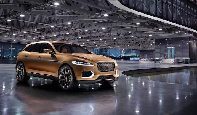 ジャガーのコンセプトSUV「C-X17」がよりラグジュアリーに|Jaguar