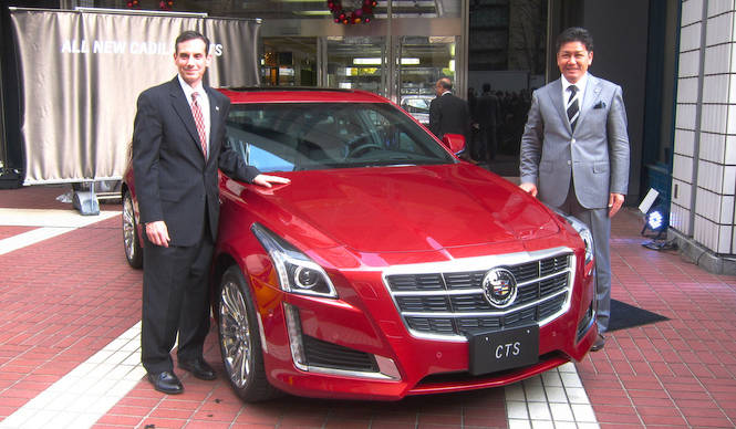 パフォーマンスと高級感を向上させた3代目CTS Cadillac