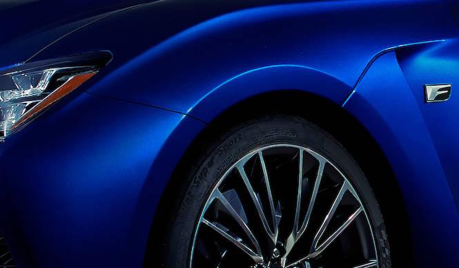 あたらしい「F」をデトロイトで発表 Lexus