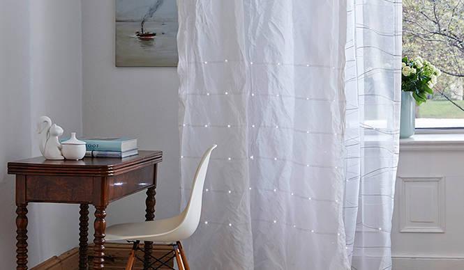 creation baumann|光をまとったカーテン誕生
