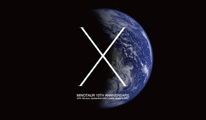 MINOTAUR|「地球」を投影したスペシャルプロダクトを発売