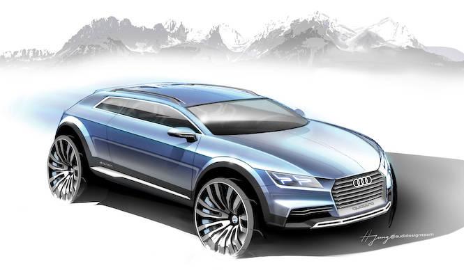 デトロイトでコンパクトスポーツ クロスオーバーを公開|Audi