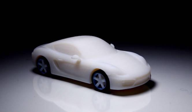 3Dプリンターで「ケイマン」のオーナーに|Porsche
