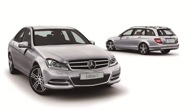 Cクラスに特別仕様車「Edition C」 Mercedes-Benz