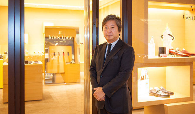 JOHN LOBB|松田智沖が「東京ミッドタウン店」を語る