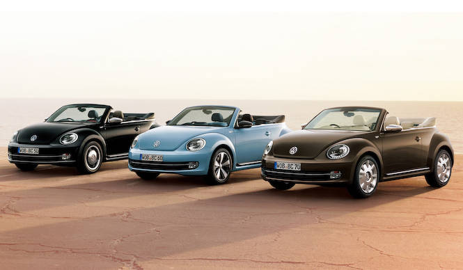 ザ・ビートル カブリオレにレトロ調の特別限定車|Volkswagen