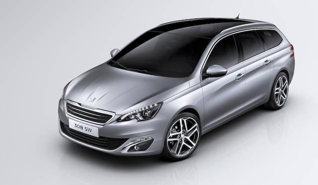 新型308SW、ジュネーブでデビュー|Peugeot