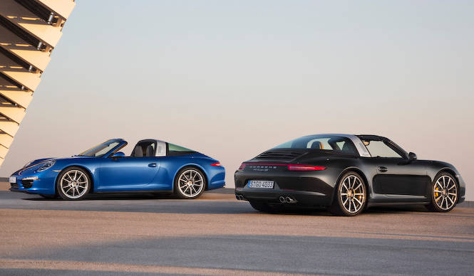 新機構のオープントップを採用した911タルガ登場|Porsche