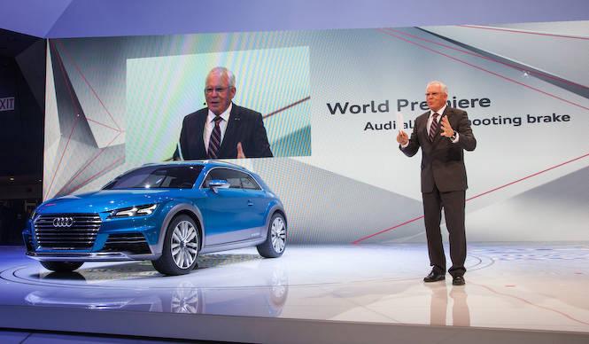 次期TTのデザインを予告するコンセプトカー Audi