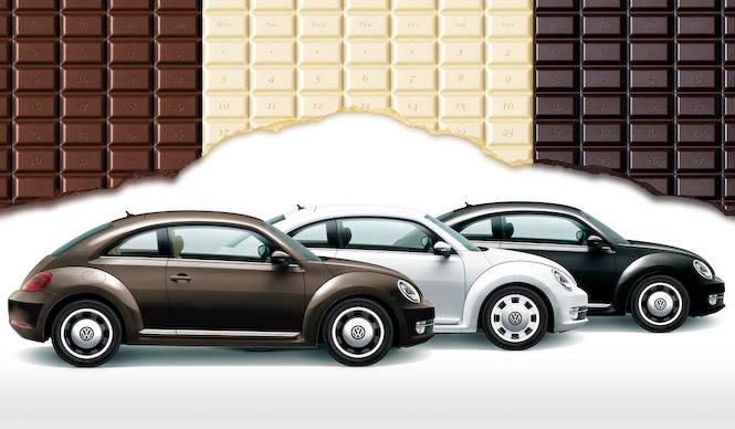 ザ・ビートルにチョコをイメージした特別限定車|Volkswagen