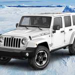 南極をイメージした真っ白なラングラー アンリミテッド|Jeep