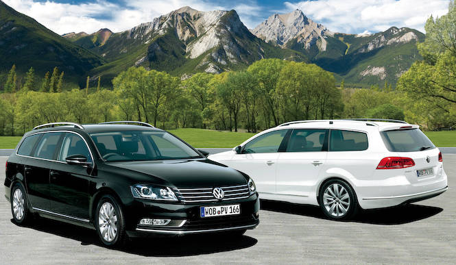 パサート ヴァリアントに装備充実の限定車 Volkswagen
