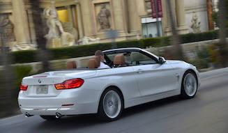 4シリーズ カブリオレが国内発売|BMW