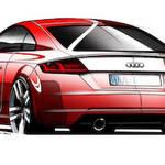 3世代目アウディ「TT」のスケッチが公開|Audi