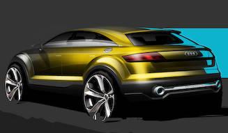 アウディのコンパクトSUVコンセプト|Audi
