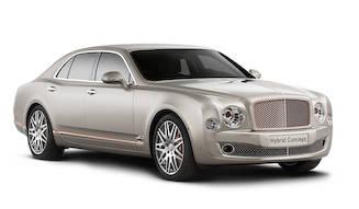 ハイブリッド化を推進するベントレー|Bentley