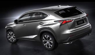 レクサスのコンパクトSUV「NX」が北京でデビュー|Lexus