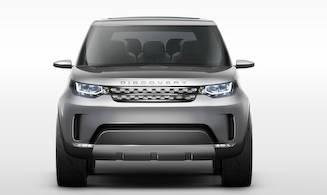 最新技術を満載したディスカバリー ビジョン コンセプト Land Rover