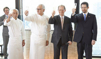 EAT|「ベージュ アラン・デュカス 東京」10周年を祝う特別企画!