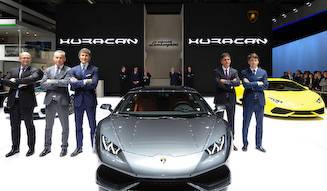 ウラカン、アジアデビュー Lamborghini