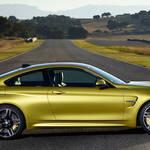 M4 クーペ、SUPER GT会場で日本初公開|BMW