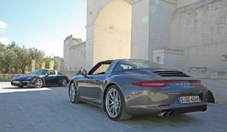 新生ポルシェ 911 タルガを試乗する|Porsche