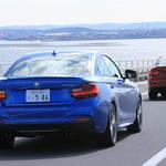 BMW M235iを試乗する BMW