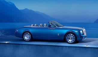 世界記録のボートをオマージュする特別なファントム|Rolls-Royce