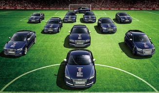 ザッケローニ氏によるアウディ ベスト イレブン発表 Audi
