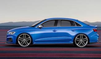 アウディA3に525psのモンスターコンセプト|Audi