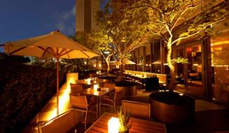 ホテルのテラスで楽しむワンランク上のビアガーデン|Grand Hyatt Tokyo