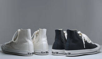 MARGARET HOWELL|「MHL.×CONVERSE」別注レザーハイカット