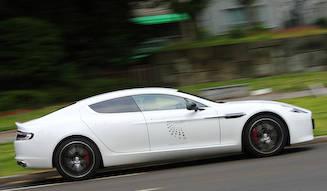 アストンマーティン ラピード Sに試乗|Aston Martin