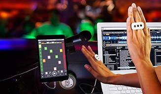 IK Multimedia iOSアプリをタッチレス操作できるコントローラー