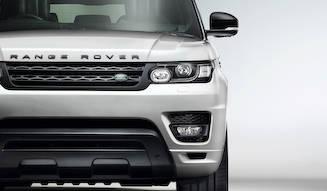 """""""ステルス""""な意匠のレンジローバー スポーツ Range Rover"""