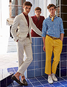 BOGLIOLI|ミラノにて2015年春夏コレクションを発表
