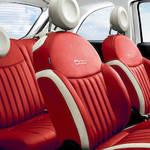 フィアット500に特別なレザーシートの限定車|Fiat