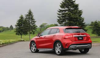 メルセデス・ベンツの新型SUV「GLA」を試乗 Mercedes-Benz