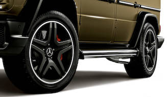 Gクラス誕生35周年を祝う2台の特別仕様車 Mercedes-Benz