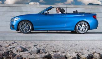 最小のオープンモデル「2シリーズ カブリオレ」デビュー|BMW