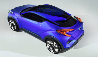 コンパクトクロスオーバーのコンセプトを発表|Toyota