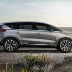 ルノー、新型ミニバン「エスパス」を予告|Renault