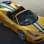 499台限定、フェラーリ 458 スペチアーレ Aがパリでデビュー|Ferrari