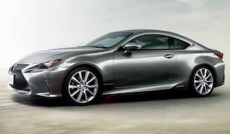 レクサスの新型クーペ、RCが正式発売を開始|Lexus