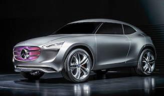 未来のSUVを示唆するコンセプトモデル|Mercedes-Benz