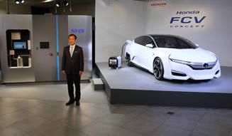 ホンダが2015年度に発売する燃料電池車のコンセプトを披露|Honda