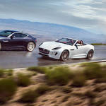 ジャガーFタイプの2016年モデルと錦織選手の特別仕様車 Jaguar